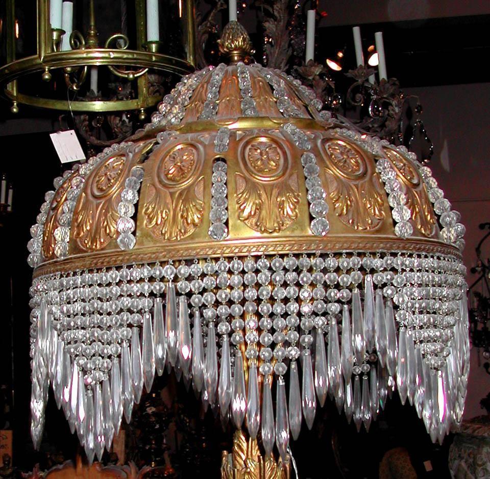 Crystal Vintage Floor Lamps