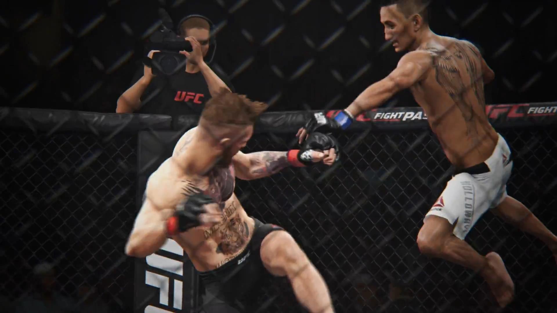 EA Sports UFC 2 Screenshots