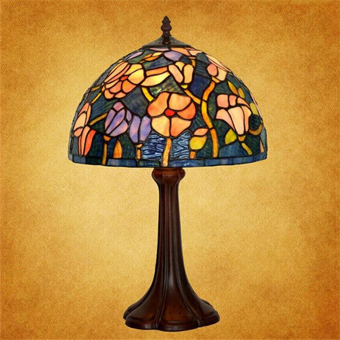 Fake Tiffany Table Lamps