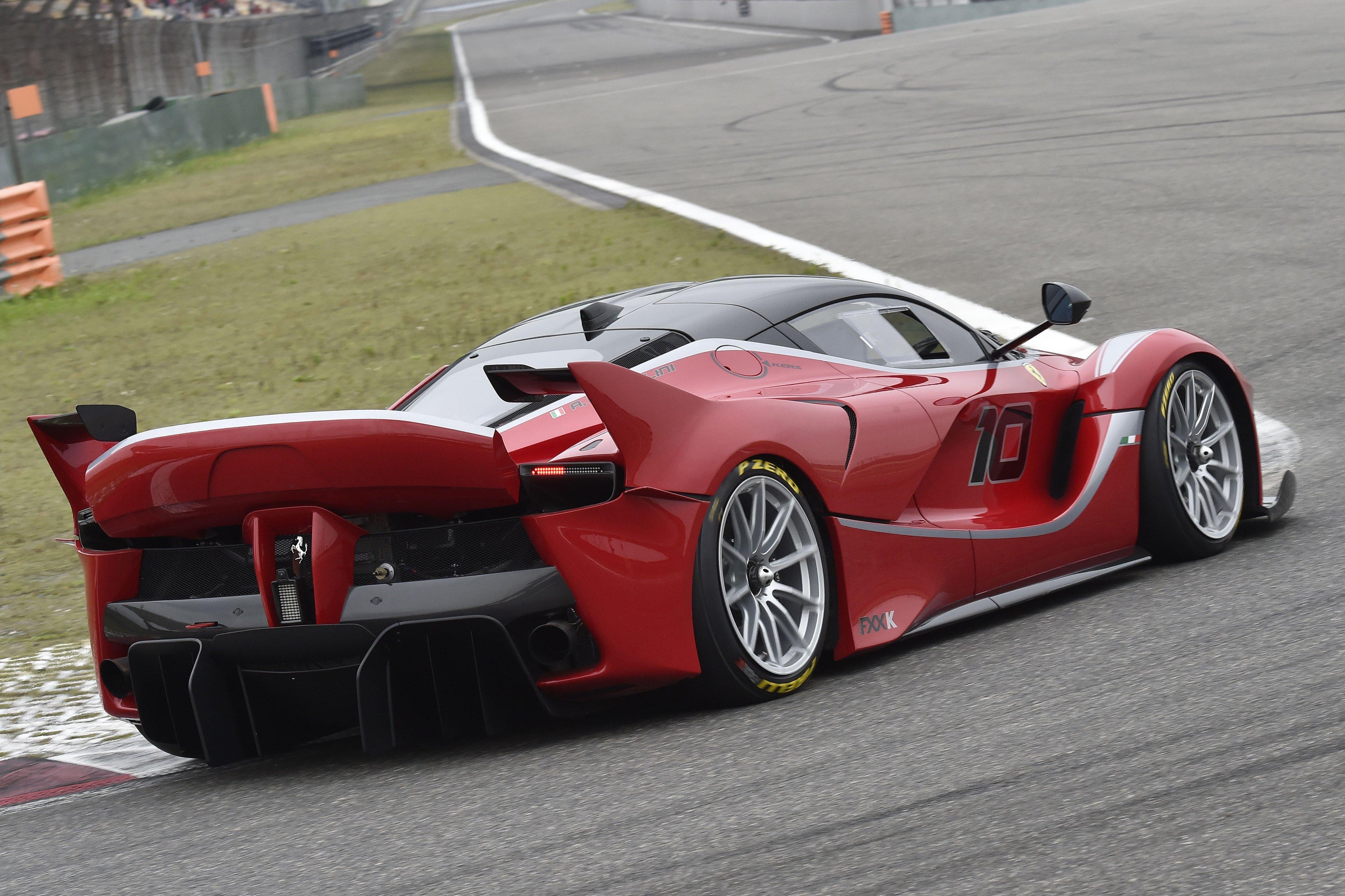 Ferrari FXX K Desktop