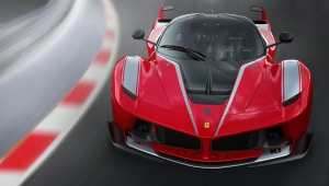 Ferrari FXX K HD Background