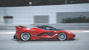 Ferrari FXX K For Desktop Background