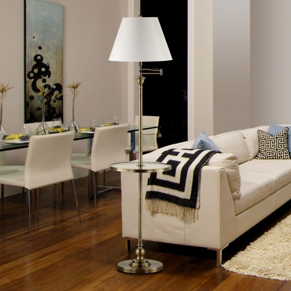 Glass Floor Lamps Images