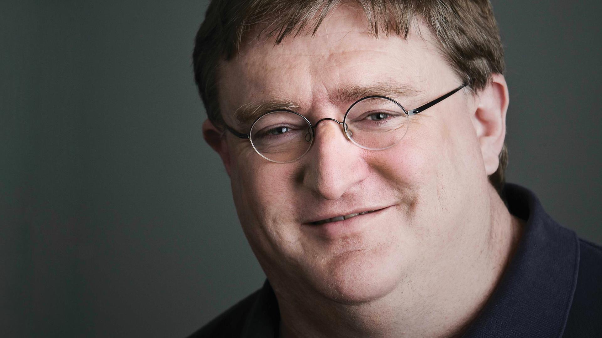 Gabe Newell Computer Wallpaper