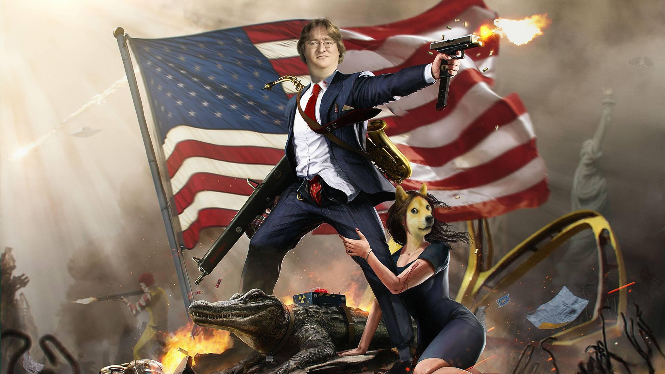 Gabe Newell Fany