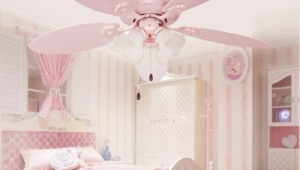 Girls Chandelier Fan