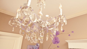 Girls Chandelier Lamp