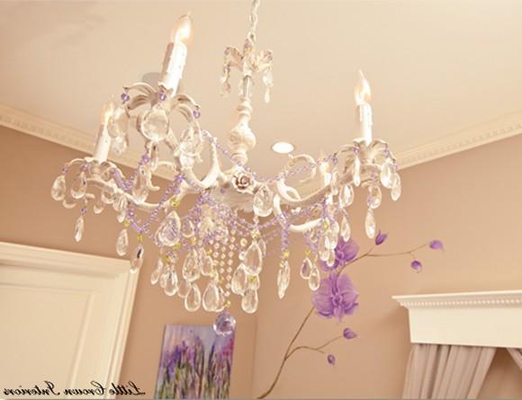 Girls Chandelier Lamp