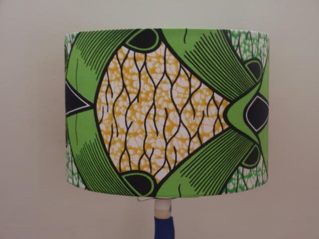 Green Lampshades