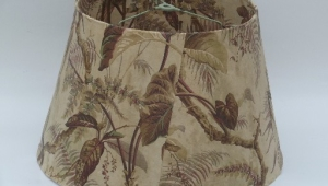 Hawaiian Print Retro Lamp Shades