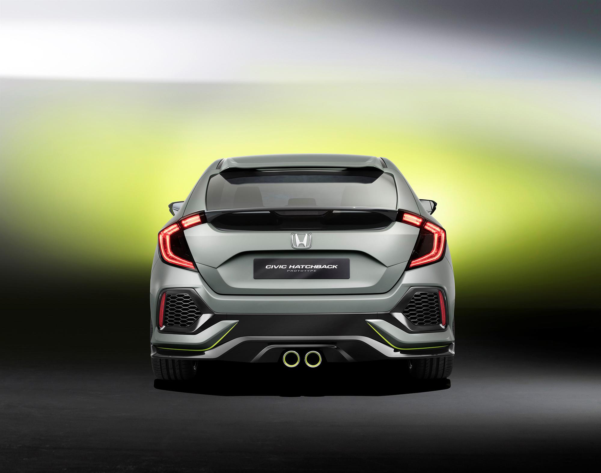 Honda Civic 2017 Photos