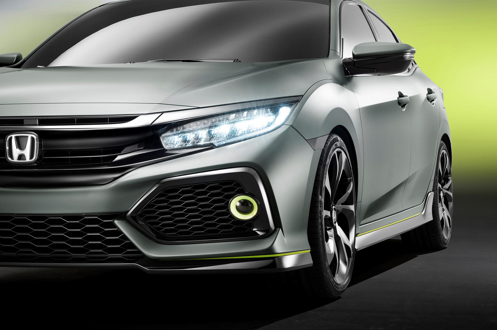 Honda Civic 2017 Widescreen