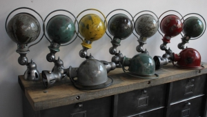 Industrial Lamps Vintage