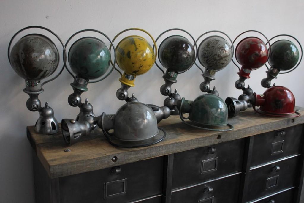 Industrial Lamps Vintage