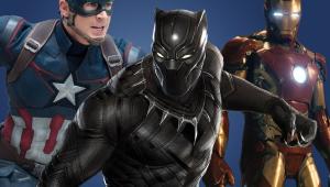 Ironman Captain America Civil War Black Panther Wallpaper