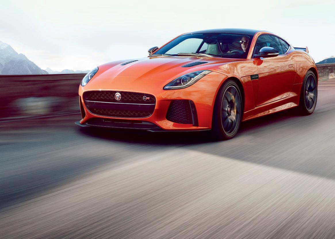 Jaguar F Type SVR Pictures