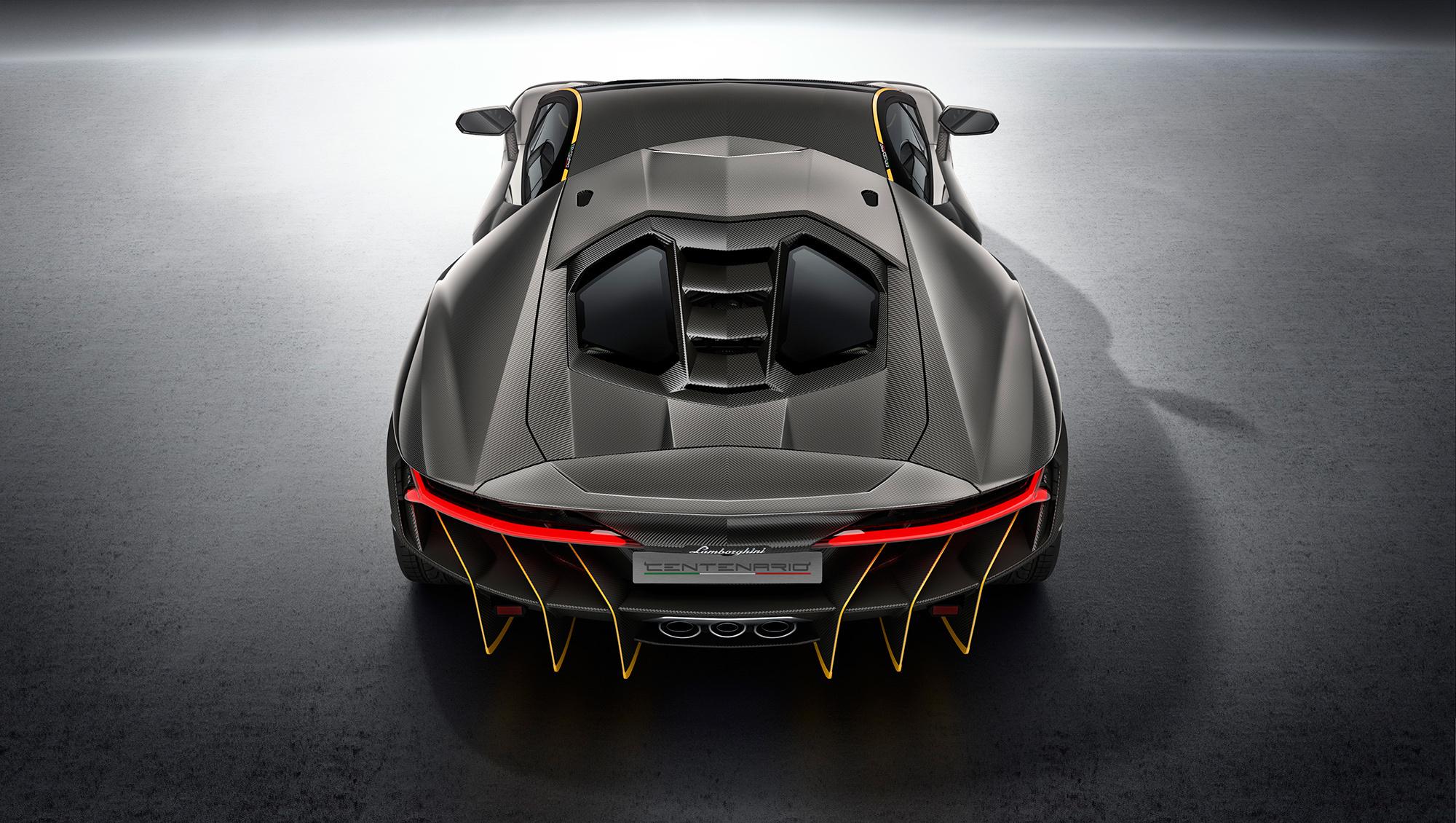 Lamborghini Centenario Widescreen