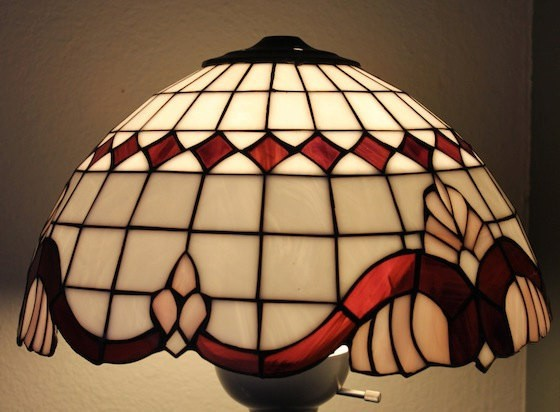 Lamp Shades Glass Antique