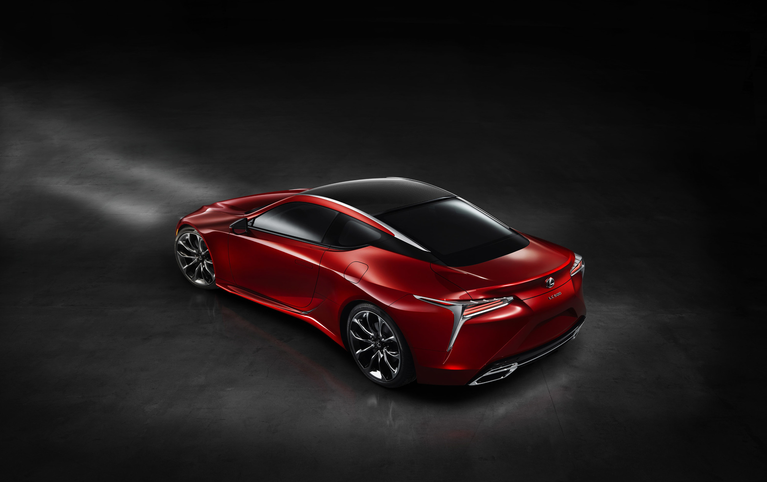 Lexus LC 500h HD Background