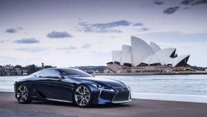 Lexus LC 500h High Quality Wallpapers