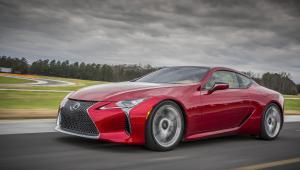 Lexus LC 500h Images