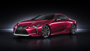 Lexus LC 500h Photos