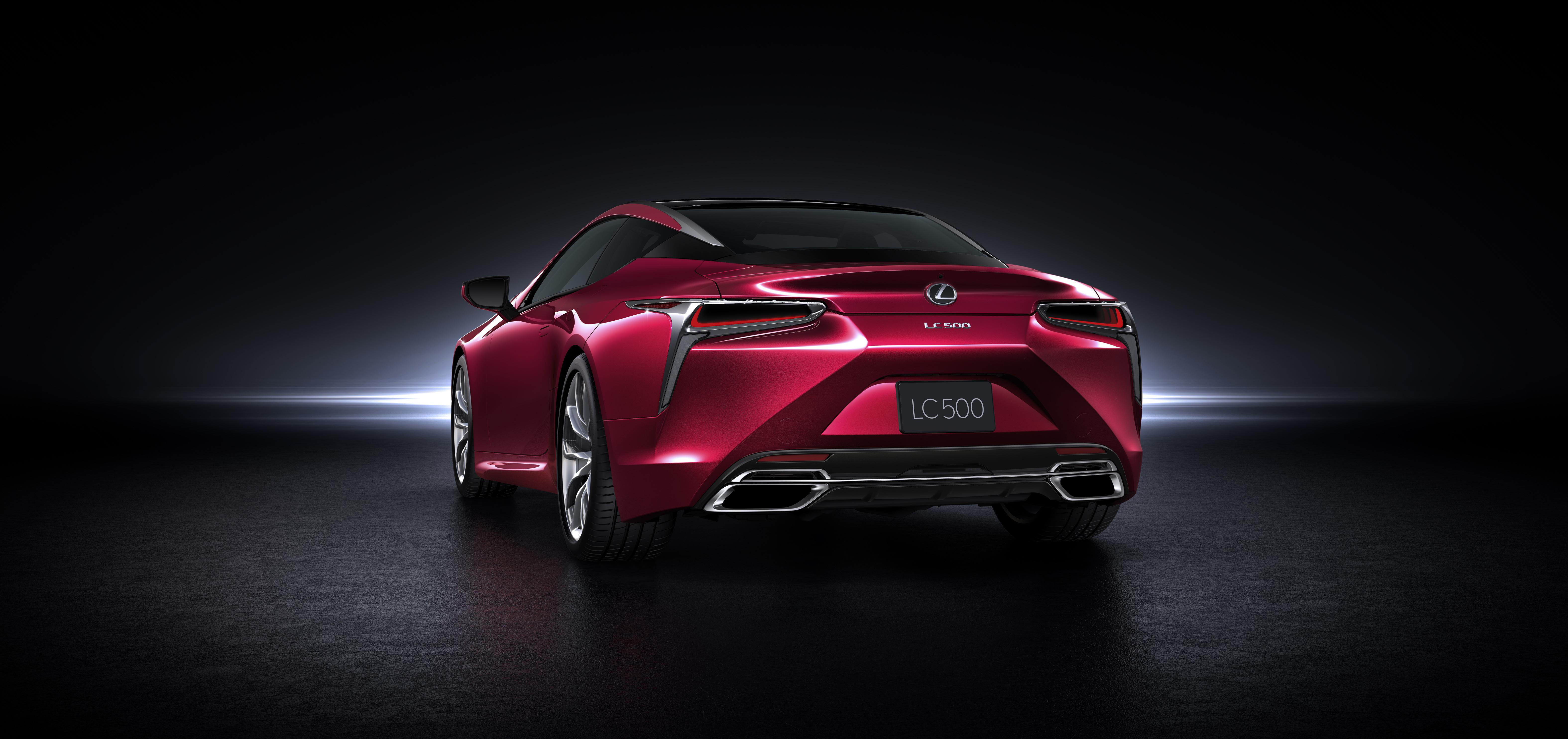 Lexus LC 500h For Desktop Background