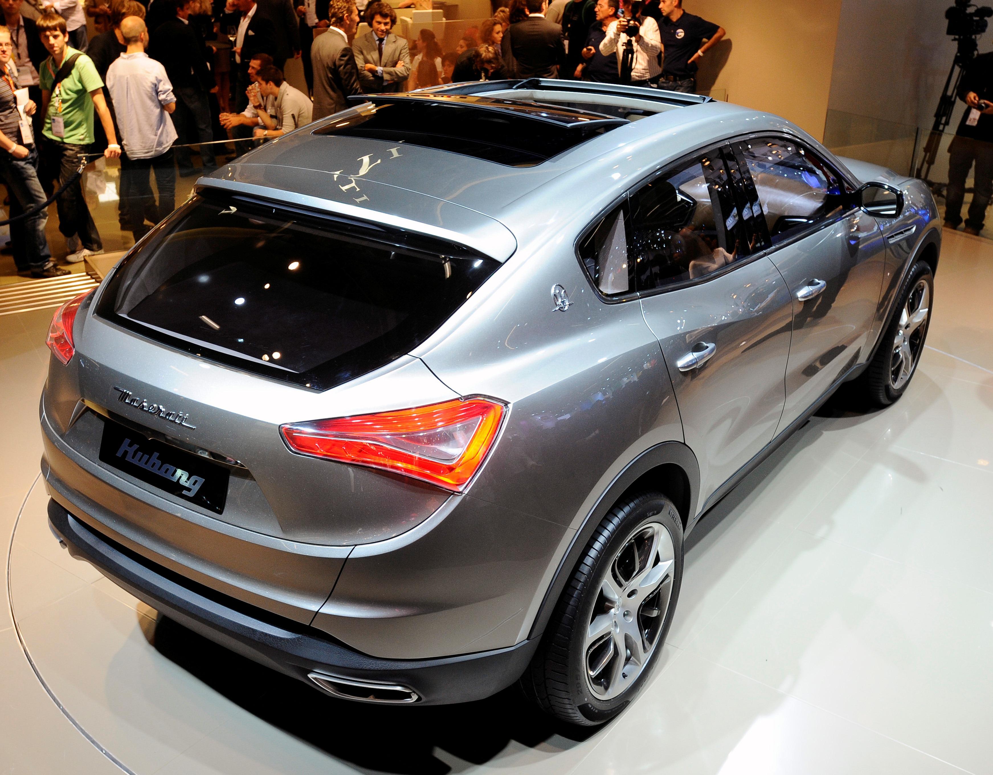 Maserati Levante SUV Photos