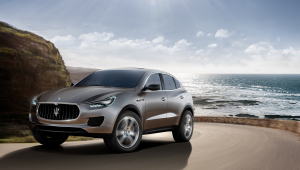 Maserati Levante SUV Wallpaper