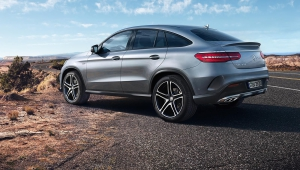 Mercedes Benz GLE Coupe Images Free