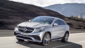Mercedes Benz GLE Coupe Iphone Wallpaper