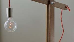 Modern Wood Desk Lamps
