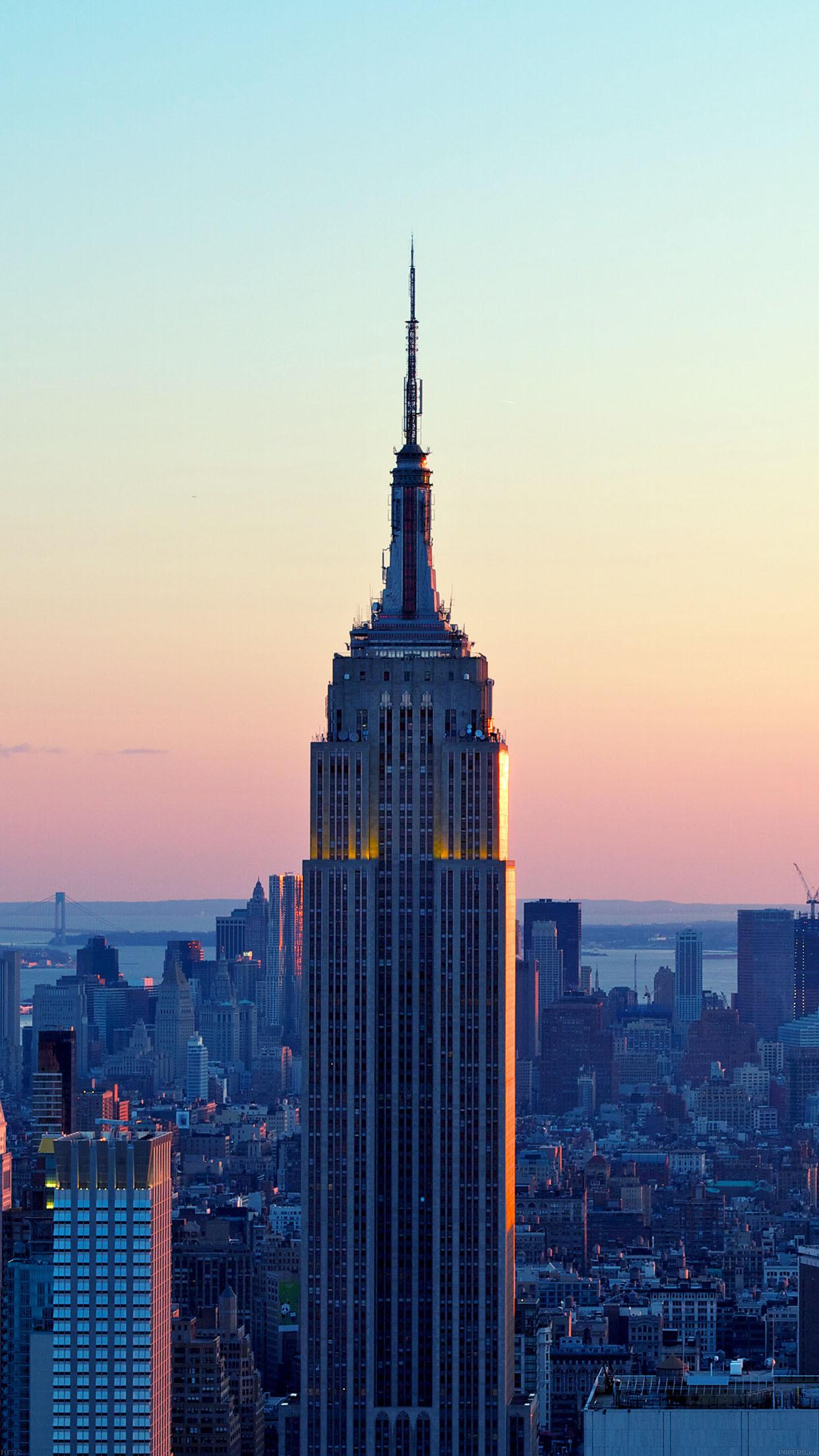New York City Skyline Iphone Wallpaper