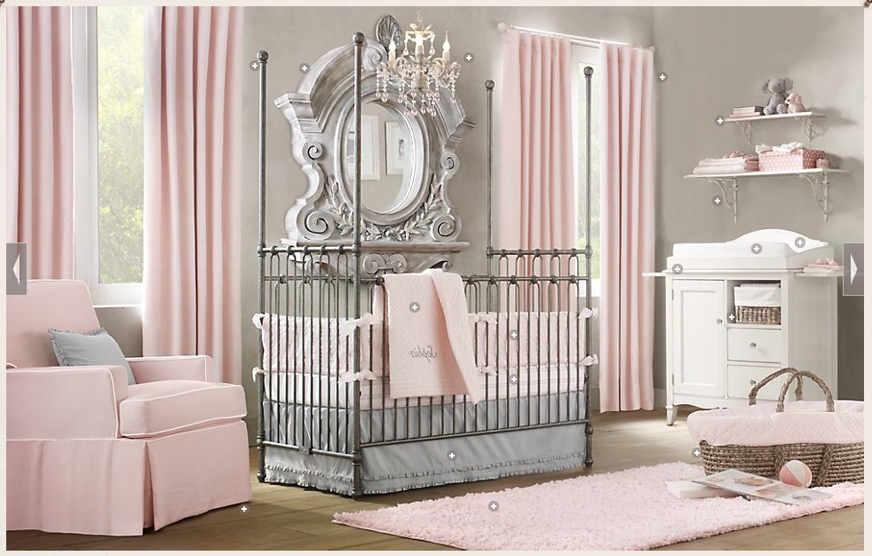 Nursery Chandeliers For Girls1
