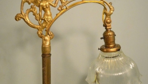 Old Vintage Antique Floor Lamps