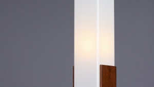 Paper Floor Lamp Square Shade