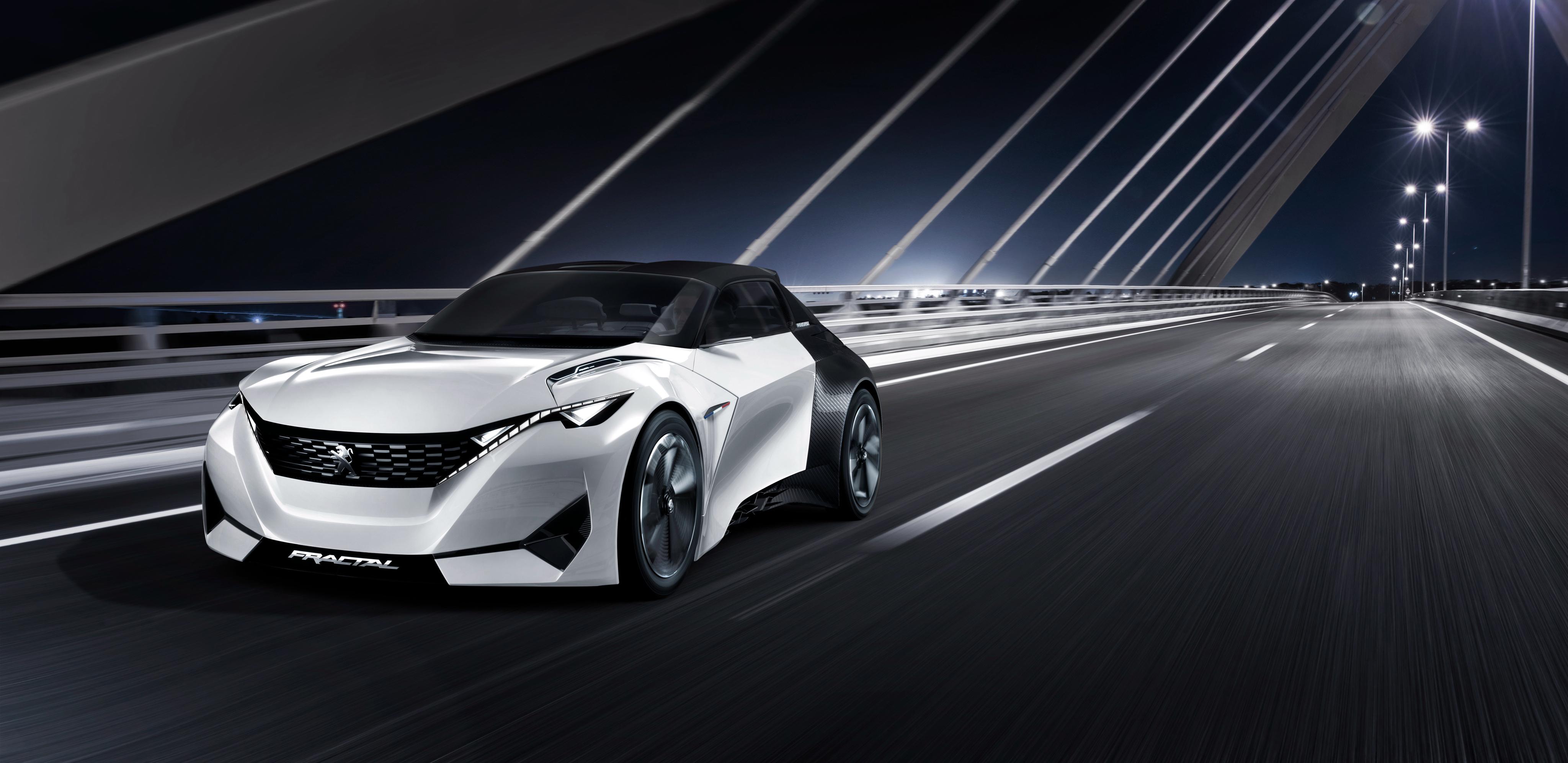 Peugeot Fractal HD Background