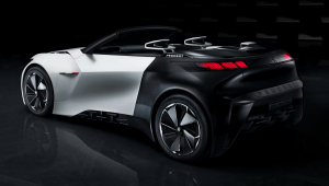 Peugeot Fractal Widescreen