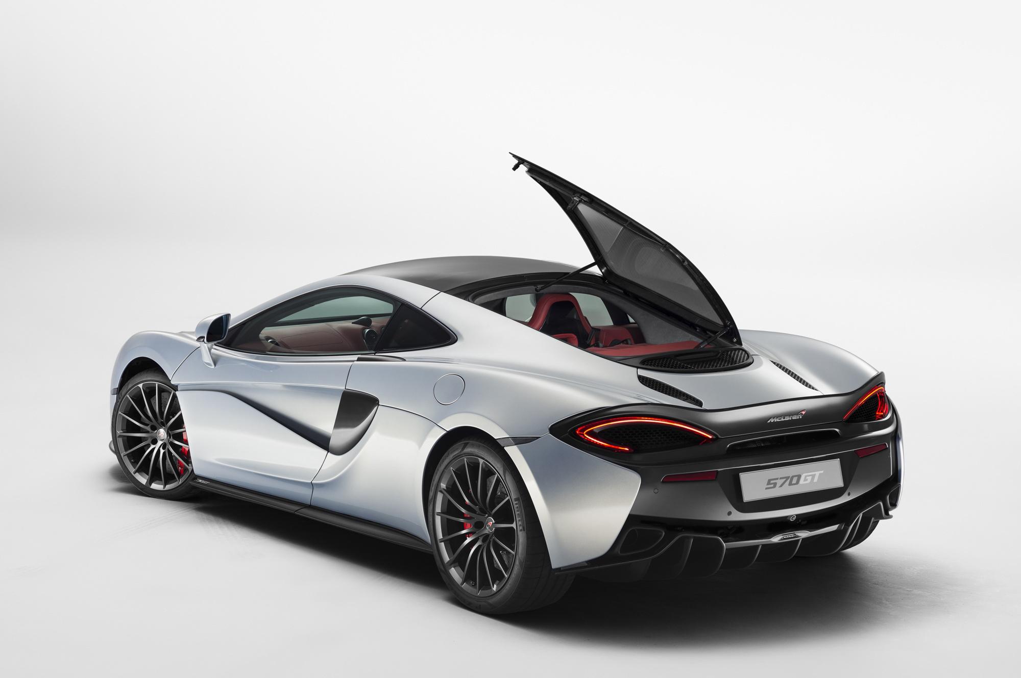 Pictures Of McLaren 570GT