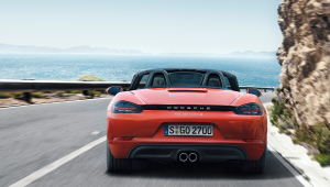 Porsche 718 Boxster Photos
