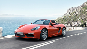 Porsche 718 Boxster Wallpapers