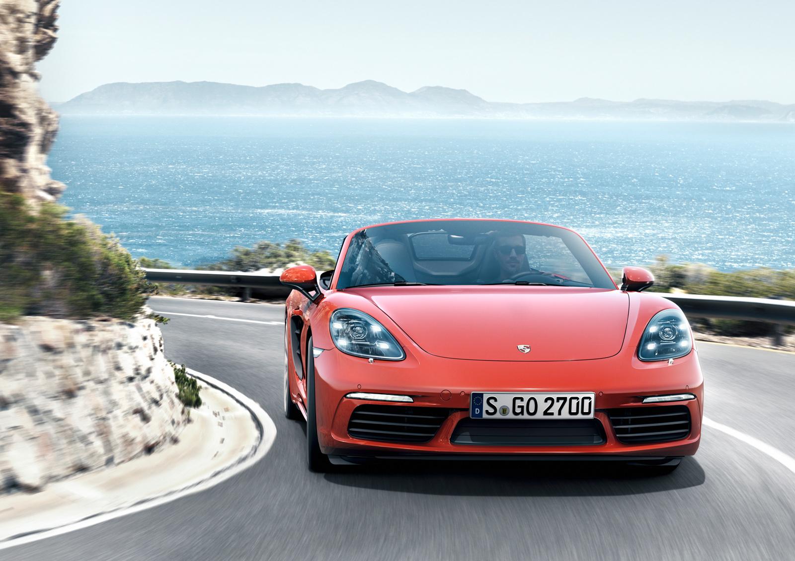 Porsche 718 Boxster Wallpapers HD