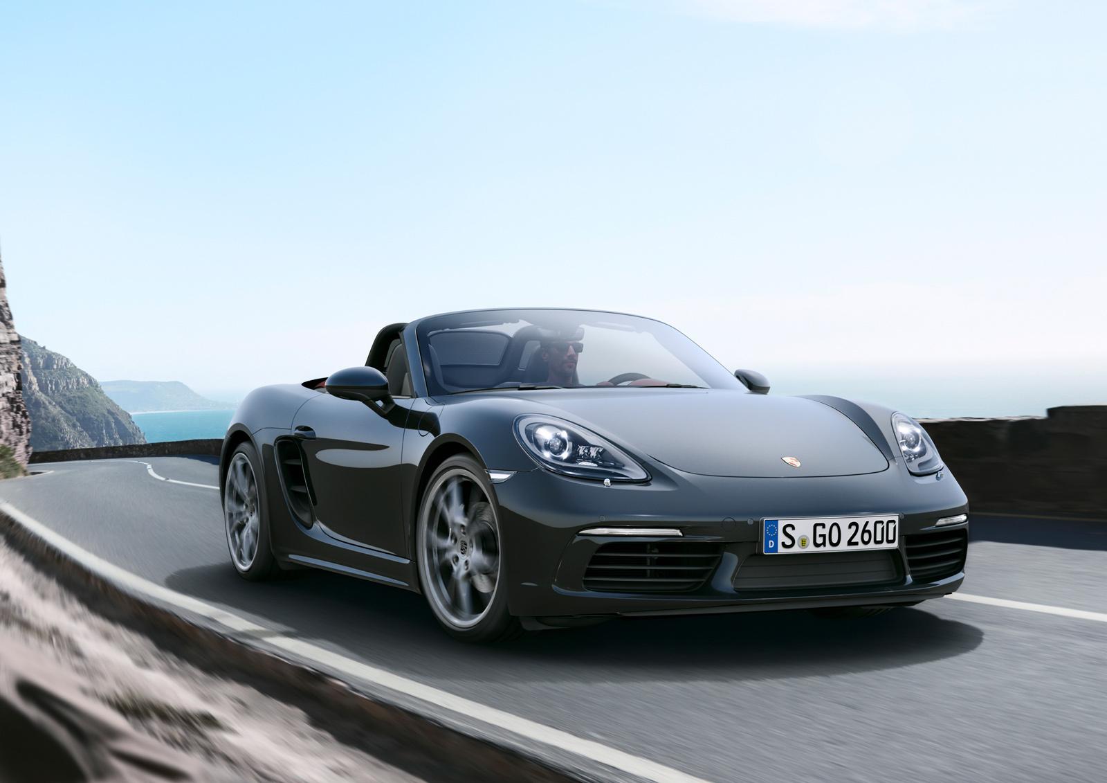 Porsche 718 Boxster Widescreen