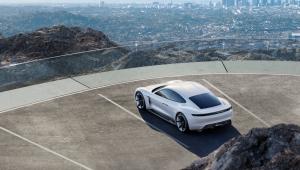 Porsche Mission E Pictures