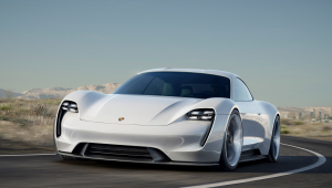 Porsche Mission E Wallpapers