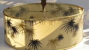Retro Fiberglass Lampshades
