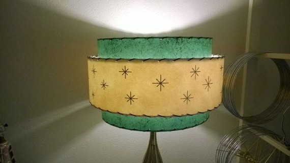 Retro lampshades