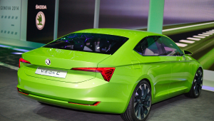 Skoda Vision C Concept High Definition Wallpapers