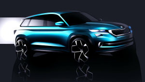 Skoda VisionS Wallpapers