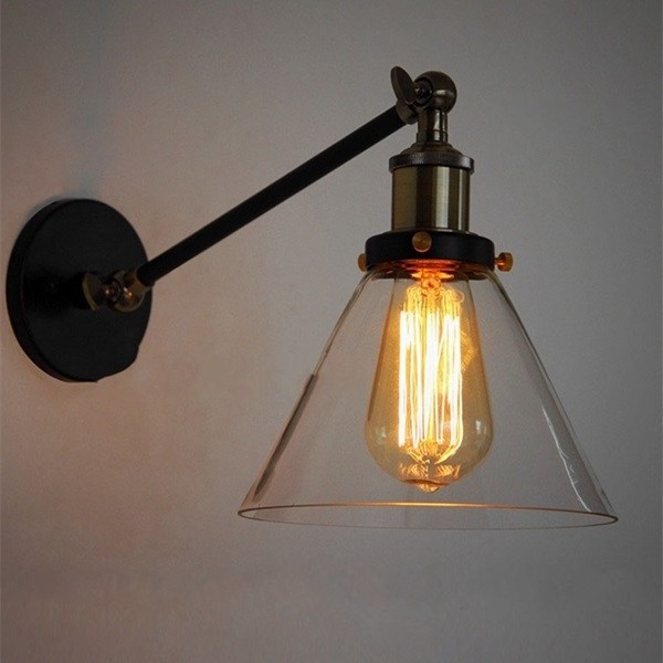 Small Glass Lamp Shades For Wall Lights